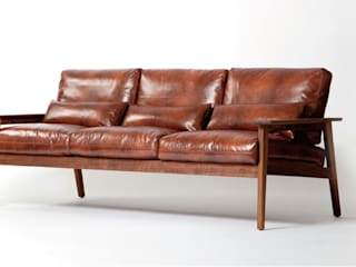 Leather Sofa : STANDARD.a의 현대 ,모던