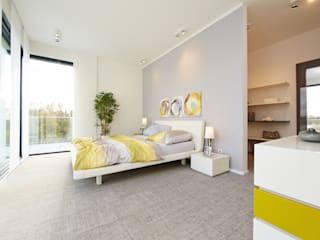غرفة نوم تنفيذ OKAL Haus GmbH