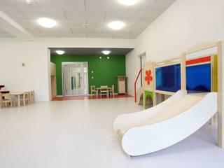 Erweiterung und Sanierung einer Kindertagesstätte:  Schulen von JA3