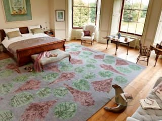 Deirdre Dyson 2012 WILD FLOWERS rug collection Deirdre Dyson Carpets Ltd Classic style bedroom