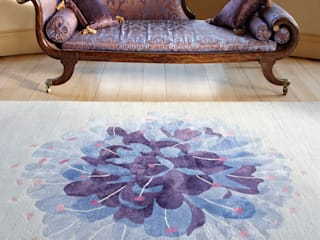 Deirdre Dyson 2012 WILD FLOWERS rug collection Deirdre Dyson Carpets Ltd Classic style living room