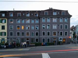 Kafischnaps Moderne Häuser von Blue Architects Modern