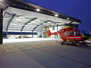 ​Cornwall Air Ambulance Trust, New Operations Facility Modern airports by Photowork Modern