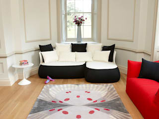 Deirdre Dyson BUTTERFLY rug collection Deirdre Dyson Carpets Ltd Classic style living room