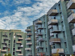 Balcones y terrazas de estilo industrial de Mineralit - Mineralgusswerk Laage GmbH Industrial
