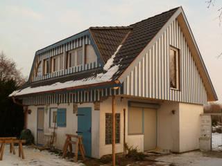 Das Sommerhaus nach dem Umbau. von Andreßen Architekten