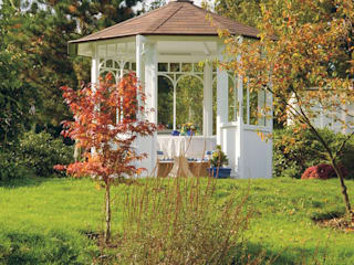 """WOGA Gartenpavillon """"Romantic"""" stilvoll und behaglich von WOGA Gartenpavillon Landhaus"""