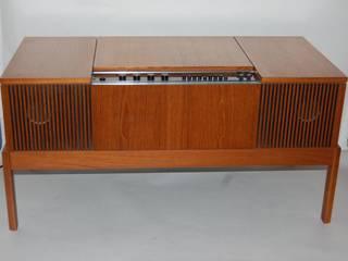 Vintage 1960s HMV Radiogram:  Living room by Retro Bazaar Ltd