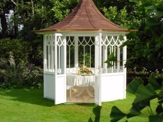 """Der WOGA Gartenpavillon """"Elegance"""" markant und elegant. Asiatischer Garten von WOGA Gartenpavillon Asiatisch"""