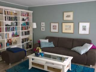 Mit wenigen Mitteln einen neuen Raum kreieren - Vorher Wohnzimmer im Landhausstil von Interiordesign - Susane Schreiber-Beckmann gestaltet Räume. Landhaus