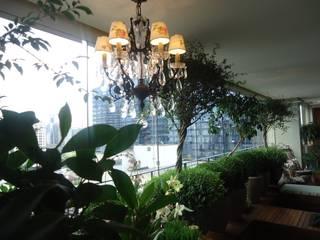 Eklektik Balkon, Veranda & Teras Línea Paisagismo.Claudia Muñoz Eklektik
