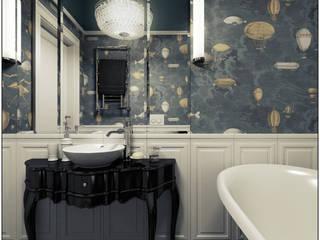 Mieszkanie z charakterem w IX-wiecznej kamienicy Eklektyczna łazienka od 2k architektura Eklektyczny