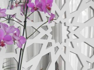 espejo de celosía artística estilo arabescas de El Rincon de Arte Mediterráneo
