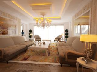 İNDEKSA Mimarlık İç Mimarlık İnşaat Taahüt Ltd.Şti. – İNDEKSA İÇ MİMARLIK:  tarz Oturma Odası
