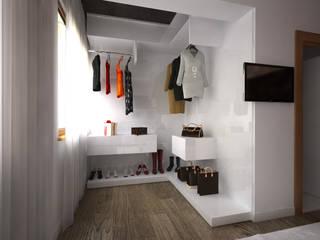 İNDEKSA Mimarlık İç Mimarlık İnşaat Taahüt Ltd.Şti. – İNDEKSA İÇ MİMARLIK:  tarz Giyinme Odası
