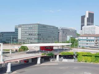 Messe Frankfurt – Tor Nord, Draufsicht:  Veranstaltungsorte von Ingo Schrader Architekt BDA