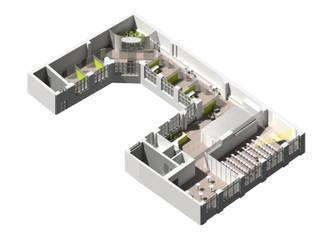 3-D Konzeptdarstellung:   von welter+welter architekten BDA