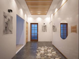 Casas modernas por İNDEKSA Mimarlık İç Mimarlık İnşaat Taahüt Ltd.Şti. Moderno