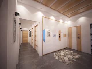 Modern Houses by İNDEKSA Mimarlık İç Mimarlık İnşaat Taahüt Ltd.Şti. Modern