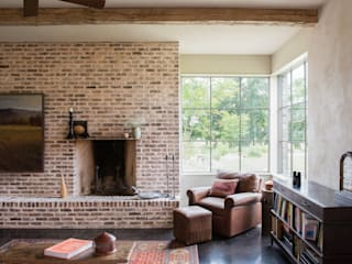 River Ranch Residence Country style living room by Hugh Jefferson Randolph Architects Country