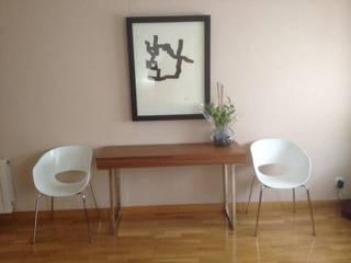 Salón Alcobendas. de Blanc-O Arquitectura de Interiores y Decoración Moderno