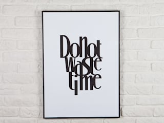 Do not waste time: styl , w kategorii  zaprojektowany przez Decoration Laboratory