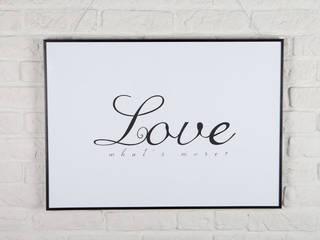 Love, what's else?: styl , w kategorii  zaprojektowany przez Decoration Laboratory