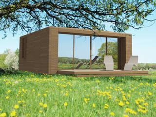 Casas de estilo escandinavo de G-render Escandinavo