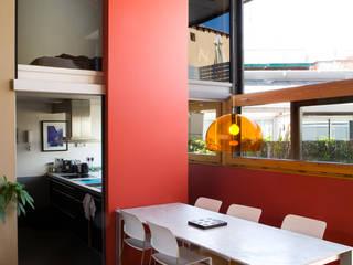 ห้องทานข้าว โดย Beriot, Bernardini arquitectos, อินดัสเตรียล