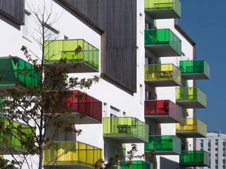 Projet de renouvellement urbain à Lorient:  de style  par DDL Architectes