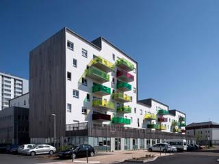Projet de renouvellement urbain à Lorient par DDL Architectes Moderne