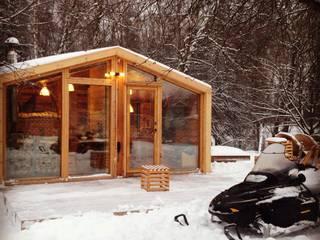 ДубльДом зимой: Дома в . Автор – BIO - architectural Bureau of Ivan Ovchinnikov
