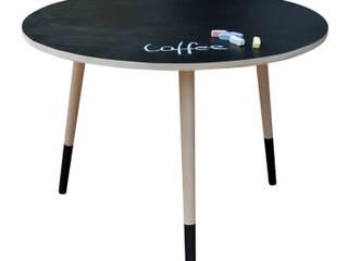 Coffee Table Black Board od Monkey Machine Magdalena Jasyk Bartczak Skandynawski