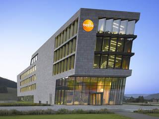 Testo AG, Titisee:  Bürogebäude von Sacker Architekten