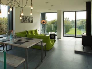 Projekty,  Salon zaprojektowane przez Patrick Bradley Architects