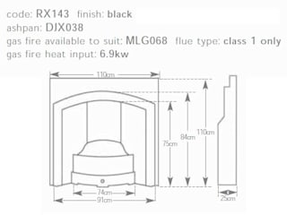 Traditional Cast Iron Fireplaces UKAA | UK Architectural Antiques