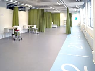 Füglistaller Architekten AG Industrial style gym