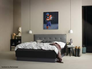 Kunst in Wohn- und Schlafzimmer Pablo & Paul Klassische Schlafzimmer