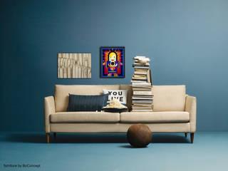 Kunst in Wohn- und Schlafzimmer Pablo & Paul Kunst Kunstobjekte