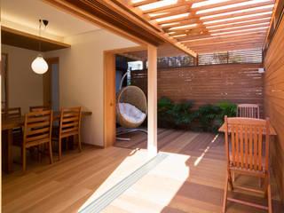 嵯峨の家Ⅰ アジア風 庭 の アトリエ・ブリコラージュ一級建築士事務所 和風