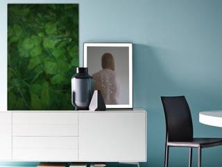 Sideboard meets Artwork Pablo & Paul Moderne Esszimmer
