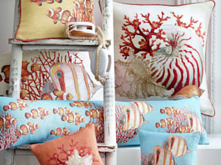 Cushions di Tissage Art de Lys Tropicale
