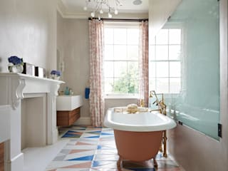 Drummond's Case Study: London Townhouse, Notting Hill Drummonds Bathrooms 現代浴室設計點子、靈感&圖片