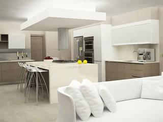Cocinas modernas de Citlali Villarreal Interiorismo & Diseño Moderno