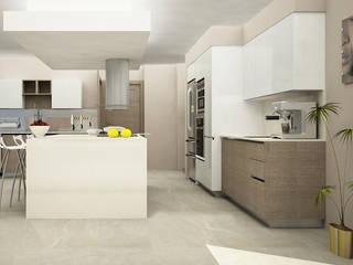 Citlali Villarreal Interiorismo & Diseño Cuisine moderne