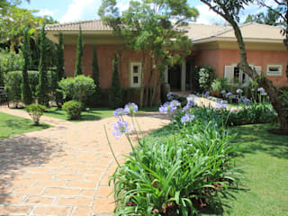 Itu - São Paulo Jardins rústicos por Mera Arquitetura Paisagistica Rústico