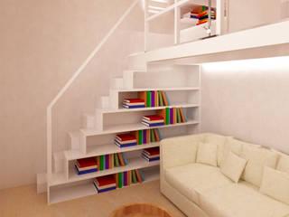 Azzurra Lorenzetto 現代風玄關、走廊與階梯