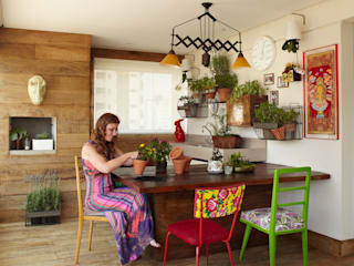 Apartamento em Perdizes Varandas, alpendres e terraços modernos por Lovisaro Arquitetura e Design Moderno
