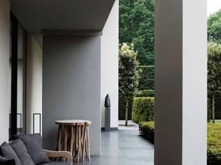 Aussenanlage in der nähe Frankfurt am Main Moderner Garten von Ecologic City Garden - Paul Marie Creation Modern