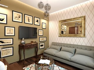 Salon de style  par K-Group, Colonial